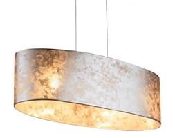 Lampa wisząca AMY I Globo styl nowoczesny nikiel tkanina plastik srebrny 15188H2