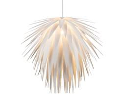 Lampa wisząca NALA Globo styl nowoczesny plastik biały 15114