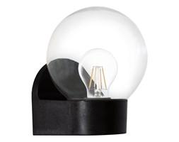 Lampa zewnętrzna ścienna LORMES I Eglo plastik szkło czarny 96584