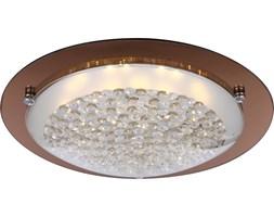 Plafon LED TABASCO Globo styl nowoczesny metal kryształ k5 lustro szkło