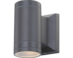 Lampa zewnętrzna ścienna GANTAR I Globo aluminium szary antracyt 32028