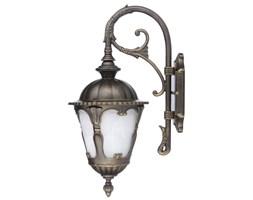 Lampa zewnętrzna ścienna TYBR I Nowodvorski aluminium szkło antyczny złoty 4686