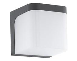 Lampa zewnętrzna ścienna LED JORBA Eglo styl nowoczesny odlew aluminiowy plastik