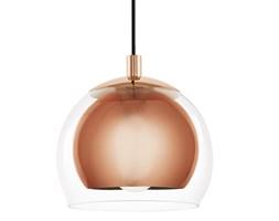 Lampa wisząca ROCAMAR Eglo styl nowoczesny stal nierdzewna szkło