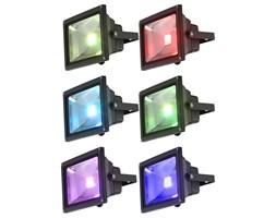 Lampa zewnętrzna ścienna LED PROJECTEUR Globo odlew aluminiowy tworzywo sztuczne szkło czarny 34119