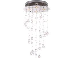 Lampa wisząca LED ST. TROPEZ Globo styl glamour kryształ chrom kryształki akrylowe chrom srebrny 68595-4