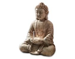 Figura Budda ze świecznikiem
