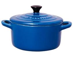 Garnek mini 0.25 l Le Creuset niebieski 91005000631000 - do kupienia: www.superwnetrze.pl