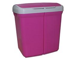 Kosz do segregacji odpadów Meliconi Ecobin 2x25L fioletowy 14106103534BA - do kupienia: www.superwnetrze.pl