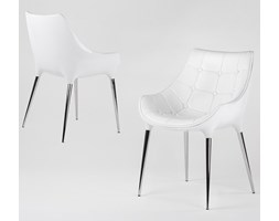 Krzesło King Bath Philippe Passion białe kod: EV-KA-051.BIALY