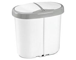 Kosz do segregacji odpadów Meliconi Multispace Duo 2x12,5L biały 14106002134BH - do kupienia: www.superwnetrze.pl