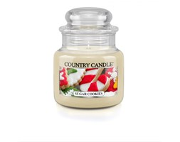 Country Candle - Sugar Cookies - Mały słoik (104g)