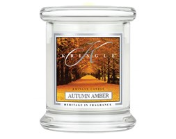Kringle Candle - Autumn Amber - mini, klasyczny słoik (128g)
