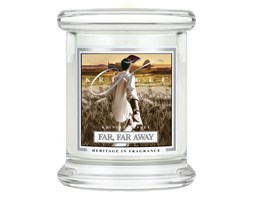 Kringle Candle - Far Far Away - mini, klasyczny słoik (128g)