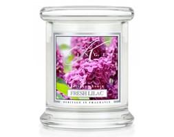 Kringle Candle - Fresh Lilac- mini, klasyczny słoik (128g)