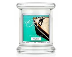 Kringle Candle - Aqua - mini, klasyczny słoik (128g)