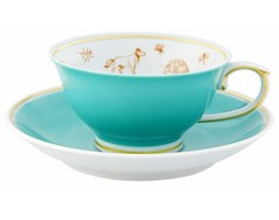 Filiżanka ze spodkiem Gipsy Tea Vista Alegre niebieska