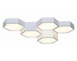 MCODO ::  Heksagonalny plafon FAVO 5 z funkcją ściemniacza i zmiany barwy led 60W