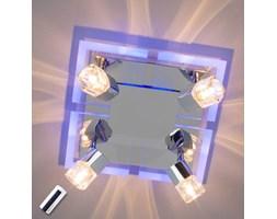 Wielopunktowa lampa sufitowa TIMEA, LED niebieski