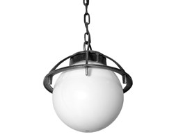 Lampa ogrodowa KULA koszyk wisząca 60W SU-MA