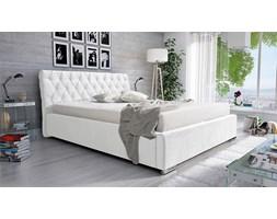 Łóżko Marsylia 180/200 - tapicerowane - białe