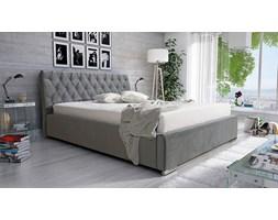 Łóżko Marsylia 180/200 - tapicerowane - szare