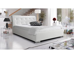 Łóżko Dakota 180/200 tapicerowane - białe