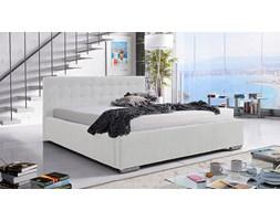 Łóżko tapicerowane Barcelona 180/200 - białe
