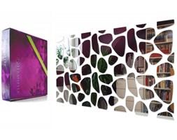 Lustro dekoracyjne Rocks 100x50cm