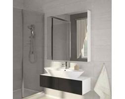 Szafka łazienkowa z lustrem Della 100 biała