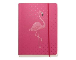 Notes A6 Go Stationery Flamingo Pink