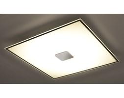 SOLLUX Nowoczesna Lampa Sufitowa Szklany Plafon MARIO 30 cm Chrom LED