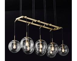 Creative Gold - Rectangle 80 - żyrandol modern art deco