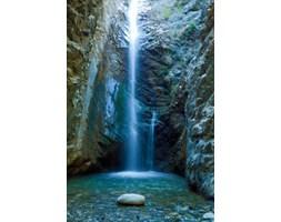 Fototapeta F824 - Wodospad w jaskini