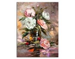 Obraz na płótnie OML033_13 - Kwiaty w wazonie