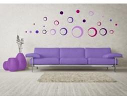 Naklejka ścienna - Skinberg - Motyw Circles - pink