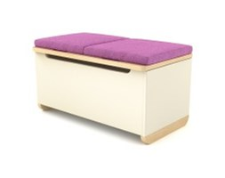 Tapicerka do Toy Box - Timoore - Simple Pink