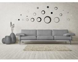 Naklejka ścienna - Skinberg - Motyw Circles - silver