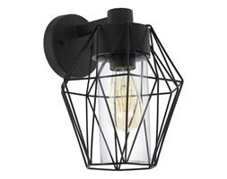Lampa zewnętrzna ścienna CANOVE Eglo stal szkło czarny 97226