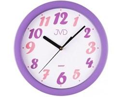 Plastikowy zegar ścienny sweep HP612.23 - Jasněna Vláhová Design - fioletowy