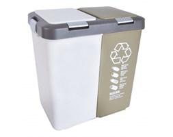 Plastikowy kosz do segregacji odpadów DUO SMALL - rabat 10 zł na pierwsze zakupy!