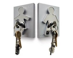 Wieszak na klucze His i Hers