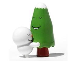 Porcelanowa figurka The Hug Tree