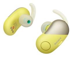 Słuchawki bezprzewodowe SONY WF-SP700N Żółty
