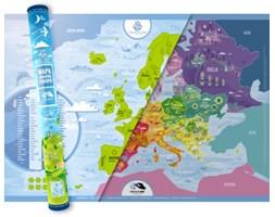Mapa Zdrapka Europy©