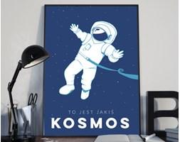 Plakat premium - Ilustracja - To jest jakiś kosmos - 50 x 70 cm
