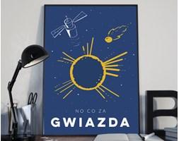 Plakat premium - Ilustracja - No co za gwiazda - 50 x 70 cm