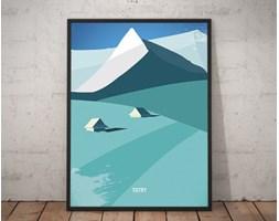 Plakat premium - Ilustracja - Tatry - 70 x 100 cm