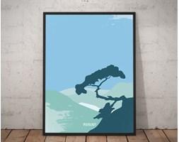 Plakat premium - Ilustracja - Pieniny - 70 x 100 cm