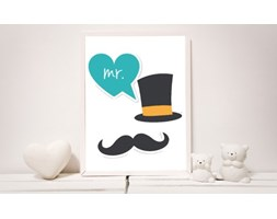 MeowBaby® Plakat do Pokoju Dziecka - MR